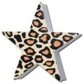 Antenna Ball (Leopard Brown Print Star)