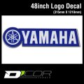 D'COR 48 inch Yamaha Decal