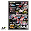 D'COR Misc MX Logos 4mil Decal Sheet