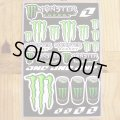 Monster Energy×One Industries 4mil. Decal Sheet