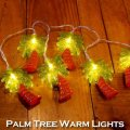 Palm Tree Warm Lights