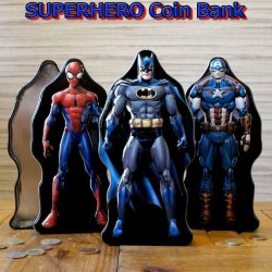 画像1: Super Hero Coin Bank【全3種】