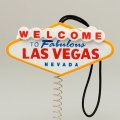 Happy LasVegas Sign Antenna Ball