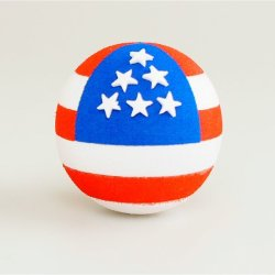 画像1: Antenna Ball (AmericanFlag 2side Ball)