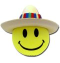 Happy Sombrero Antenna Ball