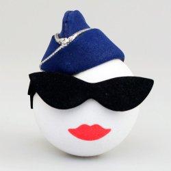 画像1: Military Air Force Lady Antenna Ball