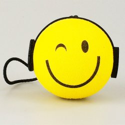 画像1: DJ with Headphones Antenna Ball
