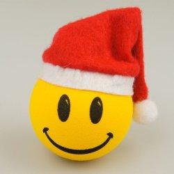 画像1: Happy Santa Antenna Ball