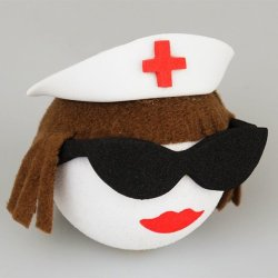 画像1: Brown Nurse Antenna Ball