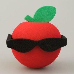 画像1: Big Apple with Sunglasses Antenna Ball