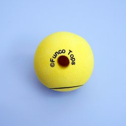 画像2: Happy Face Big Hole Antenna Ball (Yellow)