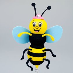 画像1: AntennaBall(Queen Bumble Bee Blue)