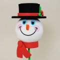 Antenna Ball (Snowman Black Hat)