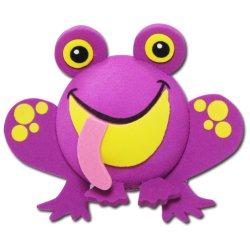画像1: Antenna Ball (Frog) Purple