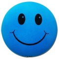 Happy Face Antenna Ball (Blue)