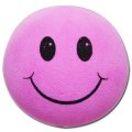Happy Face Antenna Ball (Pink)
