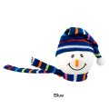 Snowman with Winter hat Antenna Ball (Blue)