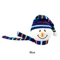 画像1: Snowman with Winter hat Antenna Ball (Blue)