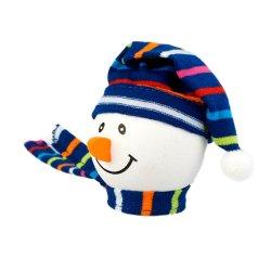 画像2: Snowman with Winter hat Antenna Ball (Blue)
