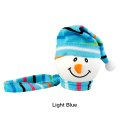 Snowman with Winter hat Antenna Ball (LightBlue)