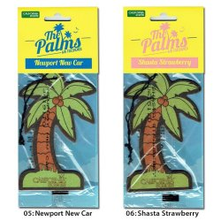 画像4: 【CALIFORNIA SCENTS Palms Hang Out Air Fresheners】カリフォルニアセンツ ヤシの木 エアフレッシュナー