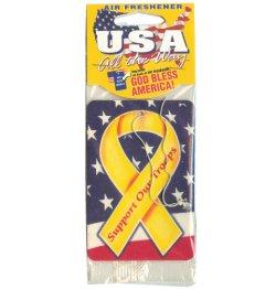 画像1: Yellow Ribbon Air Freshener 【メール便OK】