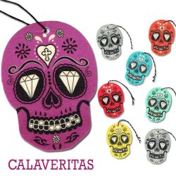 画像1: Scent USA Calaveritas Air Freshener【全5種】