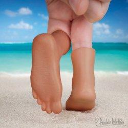 画像3: Finger Feet tanked skin フィンガーフィート(日焼け肌タイプ) 左右1ペアセット