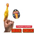 Finger Puppet RUBBER CHICKEN