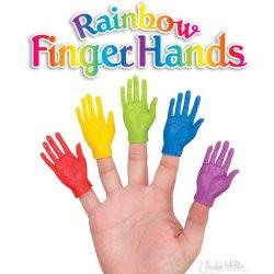 画像1: Rainbow Finger Hands 5色Set  レインボーフィンガーハンズ