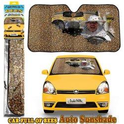 画像1: Car Full of Bees Auto Sunshade ハチがいっぱいのサンシェード