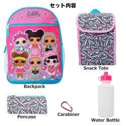 画像2: 5 Piece LOL Surprise Backpack (Pink×LightBlue)
