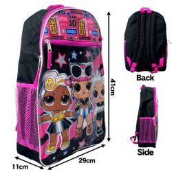 画像3: 5 Piece LOL Surprise Backpack (Magenta×Black)