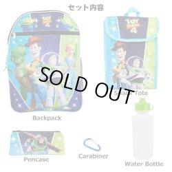 画像2: 5 Piece Toy Story 4 Backpack Set