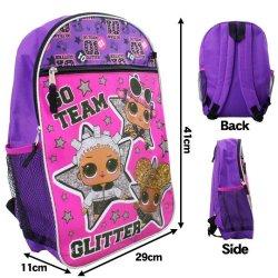画像3: 5 Piece LOL Surprise Backpack (Purple×Magenta)