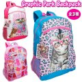 Graphic Paks GIRLS Backpack 【Cat・Owl・Ice Cream】