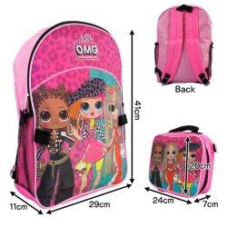 画像3: LOL OMG Backpack with LunchBag