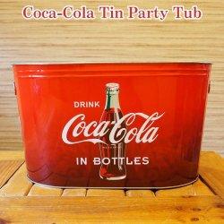 画像1: Coca-Cola Tin Party Tub