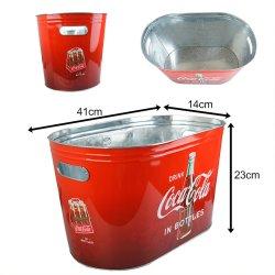 画像3: Coca-Cola Tin Party Tub