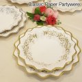 Classic Paper Plate & Bowl【8枚入り】【全4種】