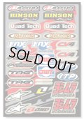 One Industries QUAD DECAL SHEET