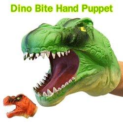 画像1: Dino Bite Hand Puppet【全2種】