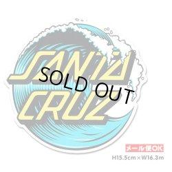 画像1: SANTA CRUZ Skateboards Wave Dot 6inch Sticker