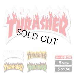 画像1: Thrasher  Flames sticker Ssize【全5種】