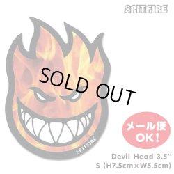 画像1: Spitfire Wheels Hellfire Bighead Sticker 【メール便OK】
