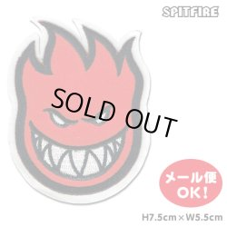 画像1: Spitfire Wheels  Bighead Patch Red Sticker