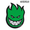 "Spitfire Wheels  Devil Head 6"" Sticker  Green 【メール便OK】"