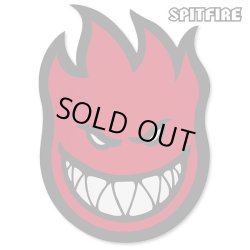 "画像1: Spitfire Wheels  Devil Head 11"" Sticker Red"