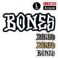 BONES WHEELS LOGO Sticker Lサイズ 【全4色】