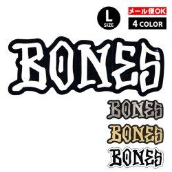 画像1: BONES WHEELS LOGO Sticker Lサイズ 【全4色】